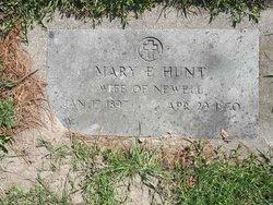 Mary Emma <I>Comerford</I> Hunt