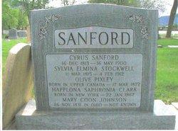 Olive <I>Pixley</I> Sanford