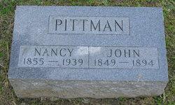 Nancy Jane <I>Mathis</I> Pittman