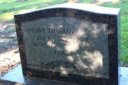 Henry Thomas Lee, Sr