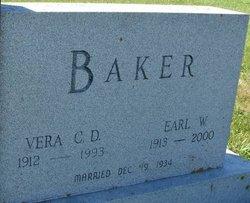 Vera Christine Dorthea <I>Hollander</I> Baker
