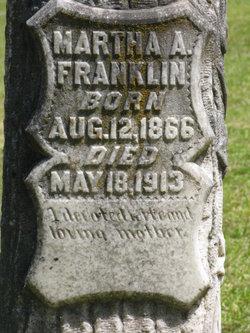 Martha Alkanza <I>Womack</I> Franklin