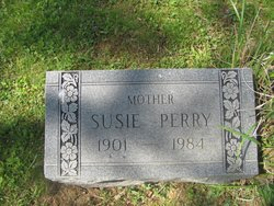 Susie <I>Dangerfield</I> Perry