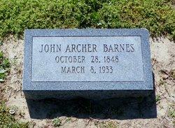 John Archer Barnes