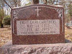 Emily <I>Gray</I> Caruthers