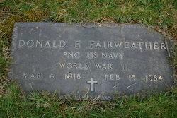 Donald Edward Fairweather