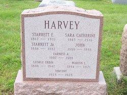 Sarah Catherine <I>Burdge</I> Harvey