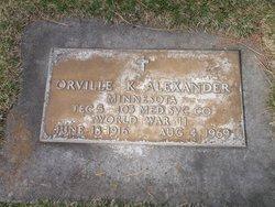 Orville K Alexander