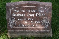 Barbara Jean Felton