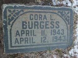 Cora L Burgess