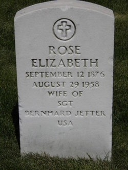 Rose Elizabeth Jetter