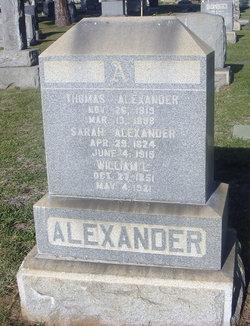 Thomas W. Alexander
