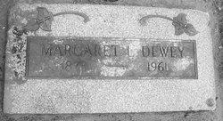 Margaret Lenora Maggie Dewey