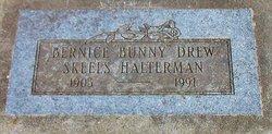 "Bernice E. ""Bunny"" <I>Drew</I> Halterman"
