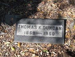 Thomas Kirkwood Duncan