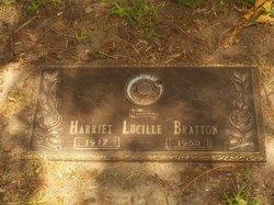Harriet Lucille <I>Glenn</I> Bratton