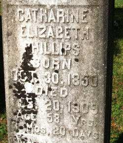Catharine Elizabeth <I>Tankersley</I> Phillips
