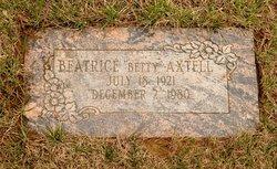 "Beatrice ""Betty"" Axtell"