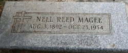 Nell <I>Reed</I> Magee
