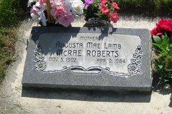 Augusta <I>Lamb</I> Roberts