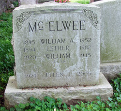 William A McElwee