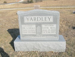 Effie Mae <I>Warren</I> Yardley