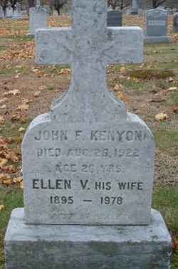"Ellen V. ""Nel"" <I>Sullivan</I> Kenyon-Dyer"