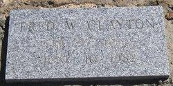 "Frederick Walter ""Fred"" Clayton"