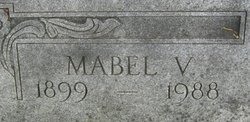 Mabel B <I>Van Tries</I> Button