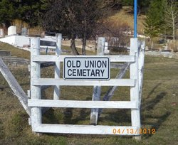 Old Blairmore Union Cemetery
