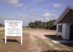 Saint Matthew Missionary Baptist Church Cemetery
