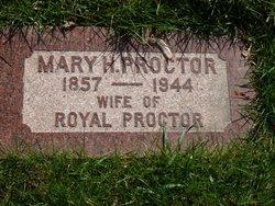 Mary <I>Hanson</I> Proctor