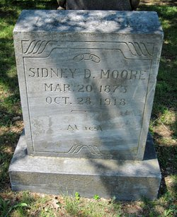 Sidney D Moore