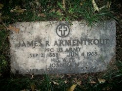 PFC James Roller Armentrout