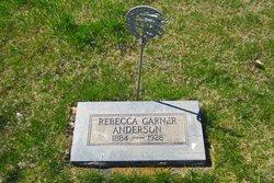 Rebecca <I>Garner</I> Anderson