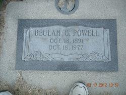 Beulah Virginia <I>Gallyer</I> Powell