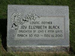 Joy Elizabeth <I>Waite</I> Black