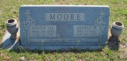 Maudie Lee <I>Winnett</I> Moore