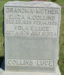 Eliza A <I>Wood</I> Collins
