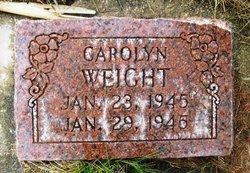 Caroline Weight