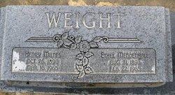 Ethel <I>Mendenhall</I> Weight