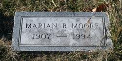 Marian B <I>Saffarrans</I> Moore