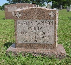 Martha Carolyn Patrom