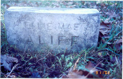 "Ella May ""Lockey"" <I>Bennett</I> Aliff"