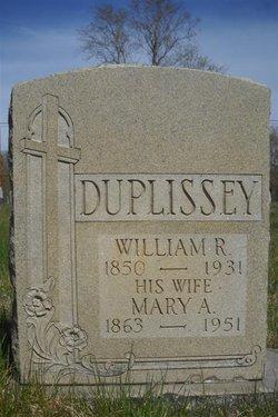 William R Duplissey