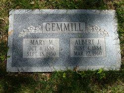 Mary M. <I>Baer</I> Gemmill