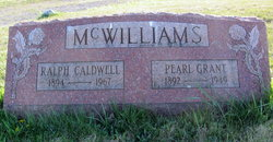 Pearl <I>Grant</I> McWilliams