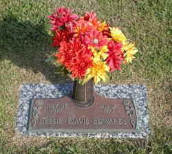 Bessie <I>Davis</I> Edwards