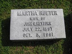 Martha von Eiken <I>Rueter</I> Heyburn