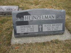 Alice A. <I>Brandt</I> Heinzelman